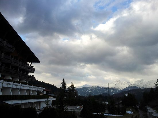 Krumers Alpin Resort & Spa: balcony view