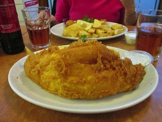 Rock & Sole Plaice: Haddock and chips