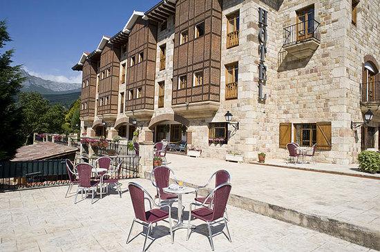 Infantado Hotel: terraza