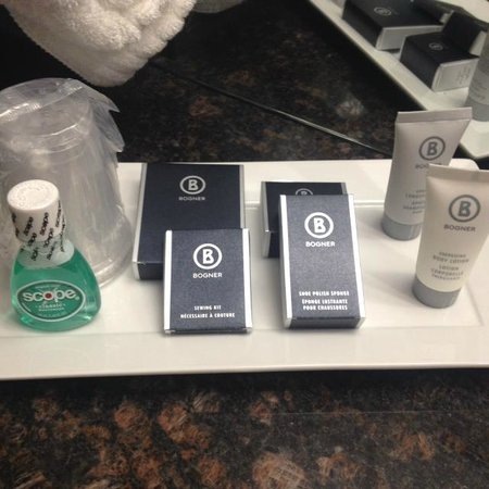 Hotel Blackfoot: bathroom goodies