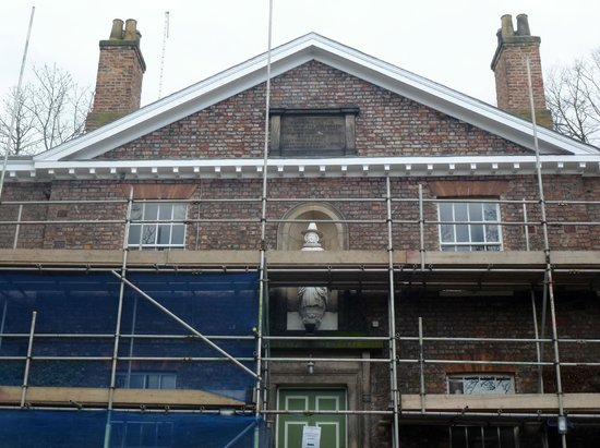 Middletons York: Lovely 18th Century main building undergoing much needed conservation (should be finished end Ap