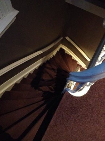 Ibis Styles Amsterdam Amstel: Steep stairs (typical in Amsterdam)
