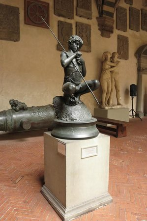 Museo Nazionale del Bargello: In the courtyard
