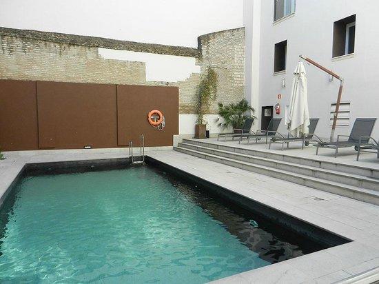 Eurostars Sevilla Boutique : Schwimmbad