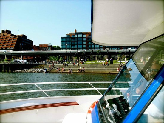 The Boomerang Party Yacht: Boomerang Yacht and Georgetown Waterfront