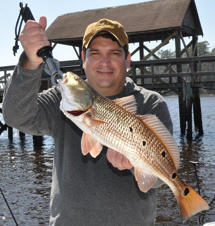 Shallow Minded Inshore Charters with Capt. Mark Dickson: Great markings!