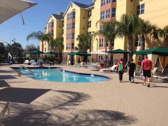 Homewood Suites by Hilton Orlando-Nearest to Univ Studios : pool area