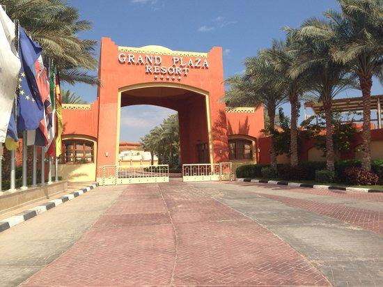 Sharm Grand Plaza: The entrance