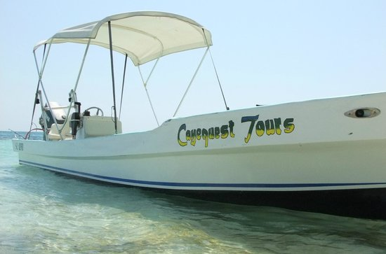 Cayequest Private Tours : our vessel