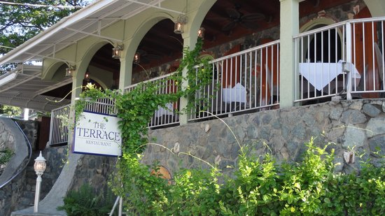 The Terrace Restaurant : Terrace Restaurant - Great view, relxed & good meal