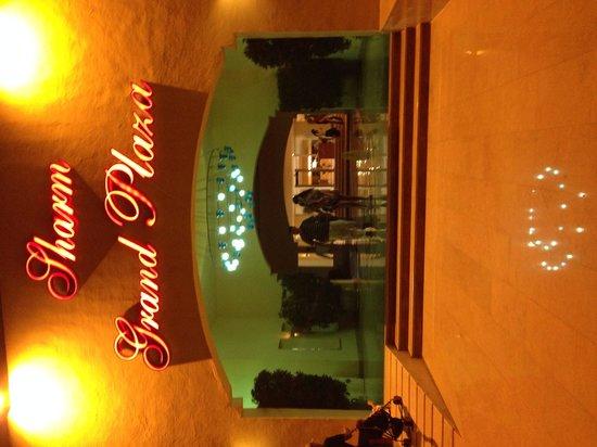 Sharm Grand Plaza: The lobby entrance