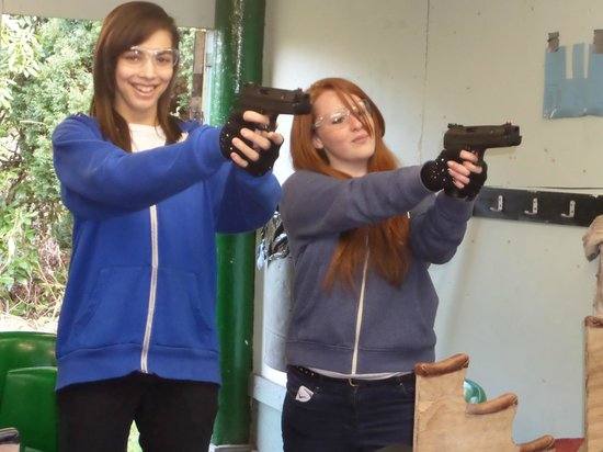 Learn how to shoot air rifles & pistols safely under our