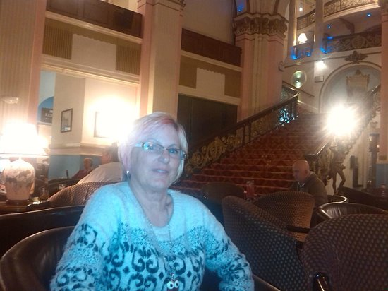 Grand Hotel Scarborough: in the foyer with thegrand staircase