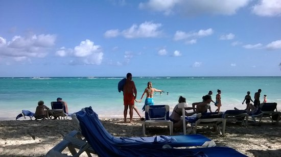 Vista Sol Punta Cana: Hermoso mar