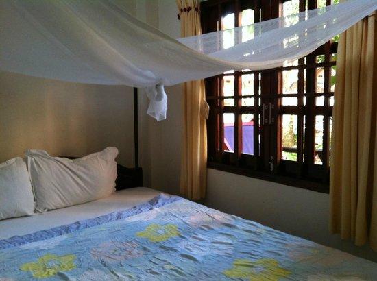 Lien Hiep Thanh Resort : 蚊帳の中で眠るなんて、もう何十年もしていませんでした