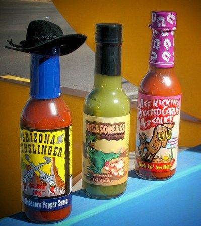Contemporary Designs : Collectible Hot Sauces