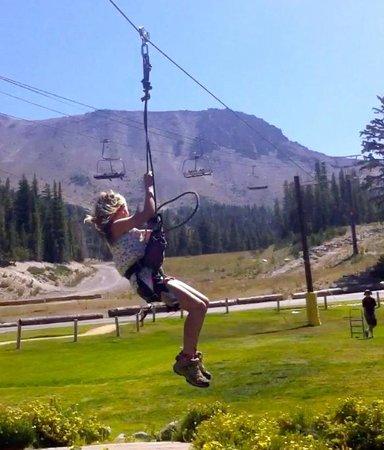 Sierra Park Villas: Mammoth Mountain Summer Adventure Center Zip Line