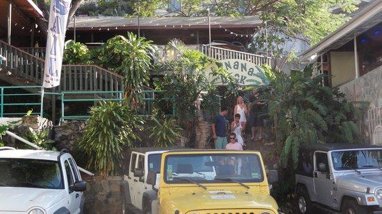 The Banana Deck: Banana Deck Cruz Bay