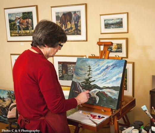 June Deveau Galerie Studio