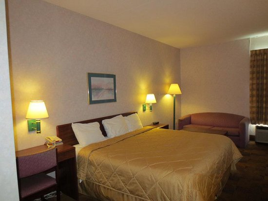 Americas Best Value Inn & Suites- Mount Vernon : Business King