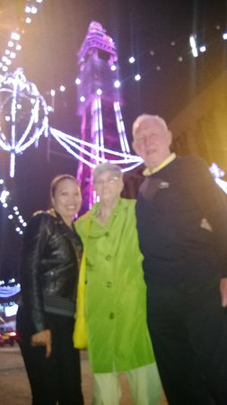 New Guilderoy Hotel Blackpool: Mrs. Guilderoy with Auntie Margaret and Uncle Joe
