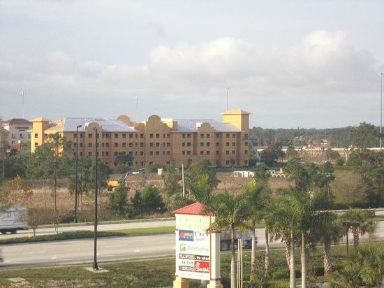 Homewood Suites by Hilton Fort Myers Airport / FGCU: A nice view from one corner of our window