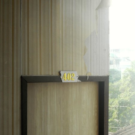River View Guest House: Peeling walls
