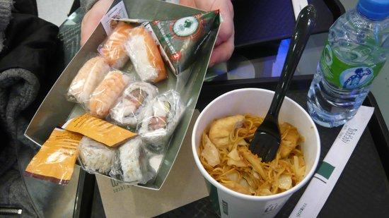 Wasabi 439 Oxford Street: sushi e tofu noodles