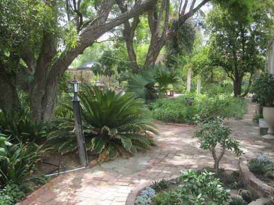 Bisibee Guest House: The beautiful garden