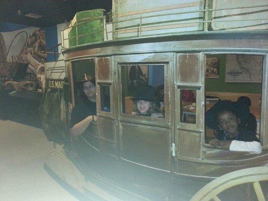 San Bernardino County Museum: Takin' a trip out west