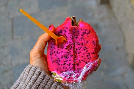 Mercat de Sant Josep de la Boqueria : Pink Dragonfruit
