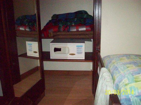 Entremares Hotel: cofre