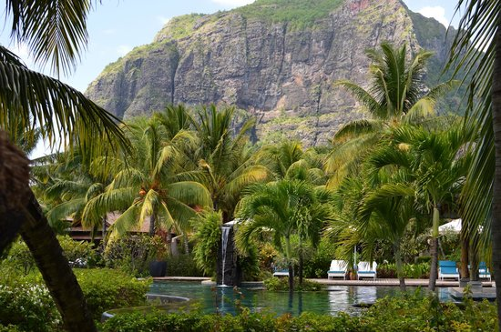 LUX* Le Morne: View from the Hotel