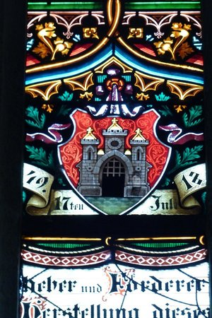 St. Martin's Cathedral (Dom svateho Martina): St. Martin's Cathedral - glass stained window