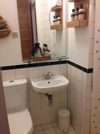Bertrams Guldsmeden - Copenhagen: Small bathroom, but good water pressure.