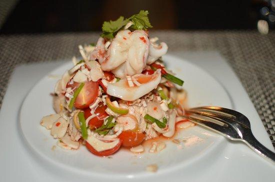 LUX* Le Morne: Seafood salad