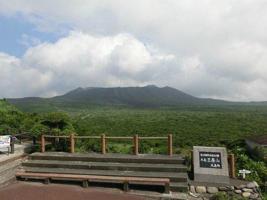 Mt. Mihara : 三原山