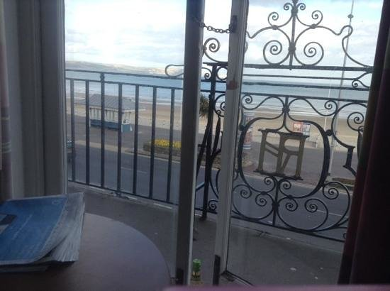 Bay Royal Weymouth Hotel : view from room 108