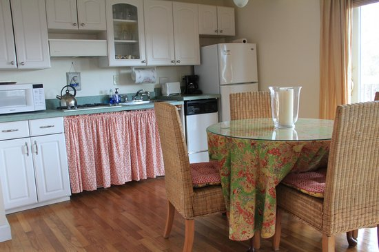 An English Garden Bed and Breakfast: Suite 1 Kitchen