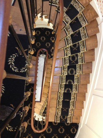 Hotel de Latour Maubourg: The stairs