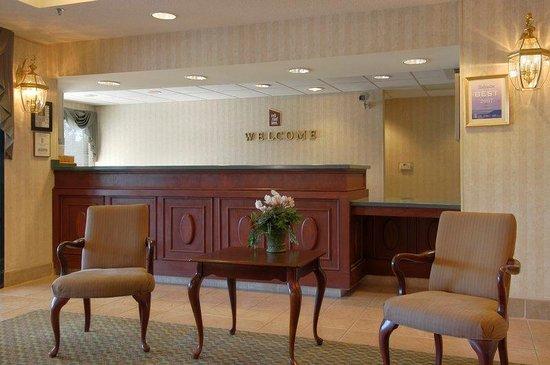 Red Roof Inn Roanoke - Troutville: Lobby