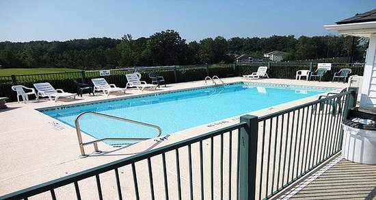 Jameson Inn Oakwood : Pool view
