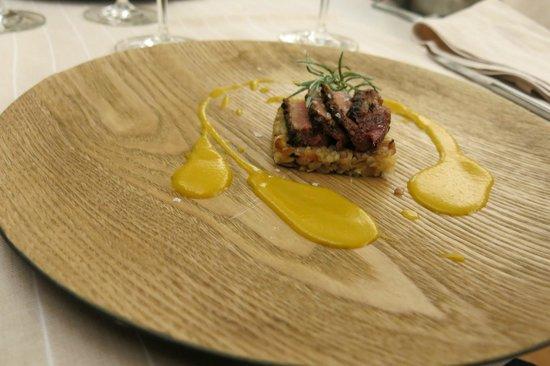 Solana Restaurante: Duck. The sauce tasted like the childhood ice cream :D