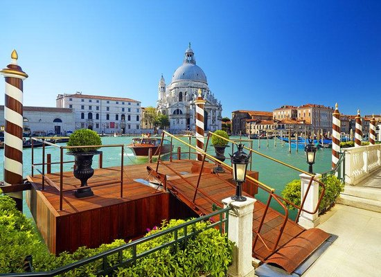 The Westin Europa & Regina, Venice: Private Water Entrance
