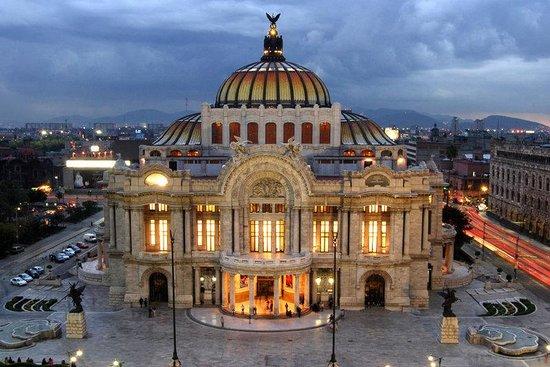 Hotel Casa Blanca Mexico City: Bellas Artes Noche