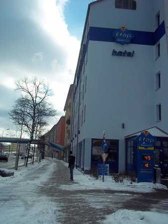 Ibis Budget Muenchen City Sued : antes Etap, agora Budget.