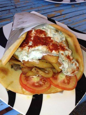 Greek Taverna: Beef Soulvaki