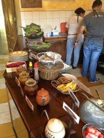 Choco cafe: Breakfast buffet