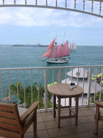 Ocean Key Resort & Spa, A Noble House Resort: Balcony view room 415