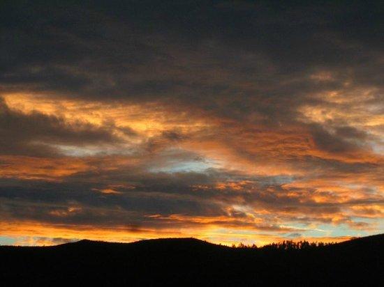 Teitei Permaculture Farm : Nice sunset